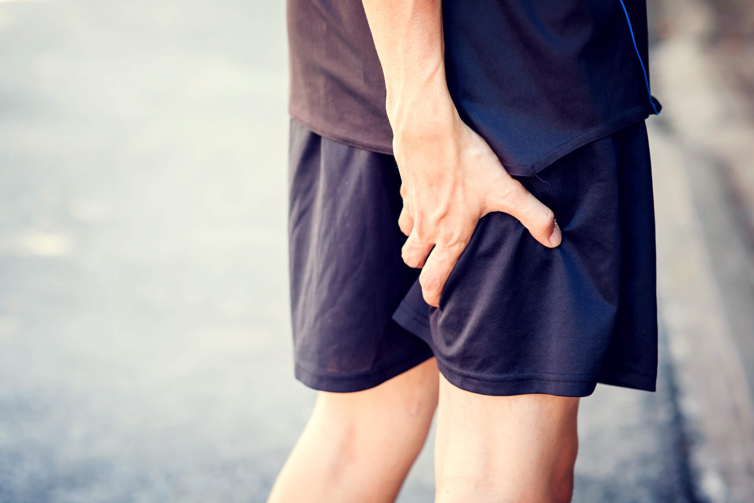 smerter i baglår og balle