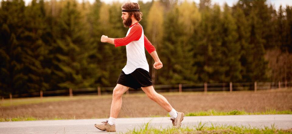 Interval-gang: Gå dig i form