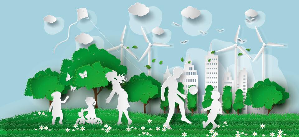 En bæredygtig livsstil er en sund livsstil