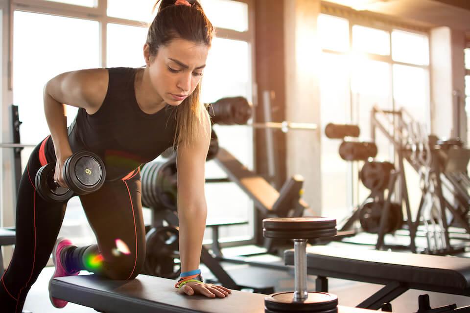 Svimmelhed og kvalme ved træning