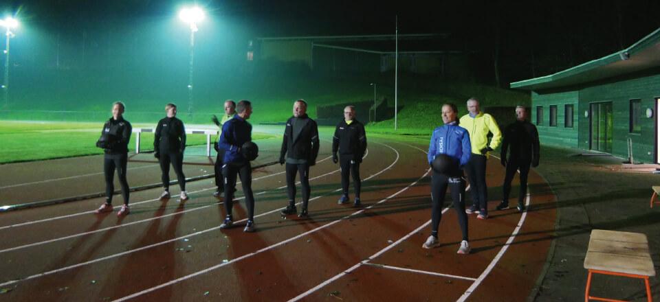 Træning i de tidlige morgentimer