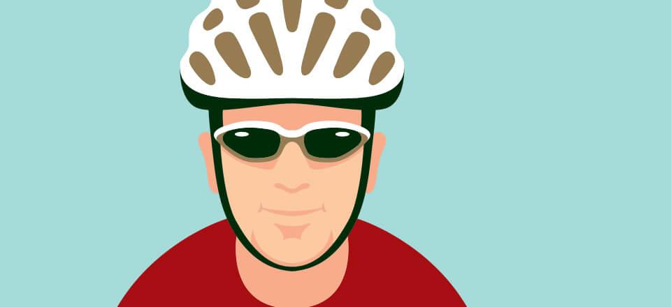 Pas på hovedet - spænd hjelmen