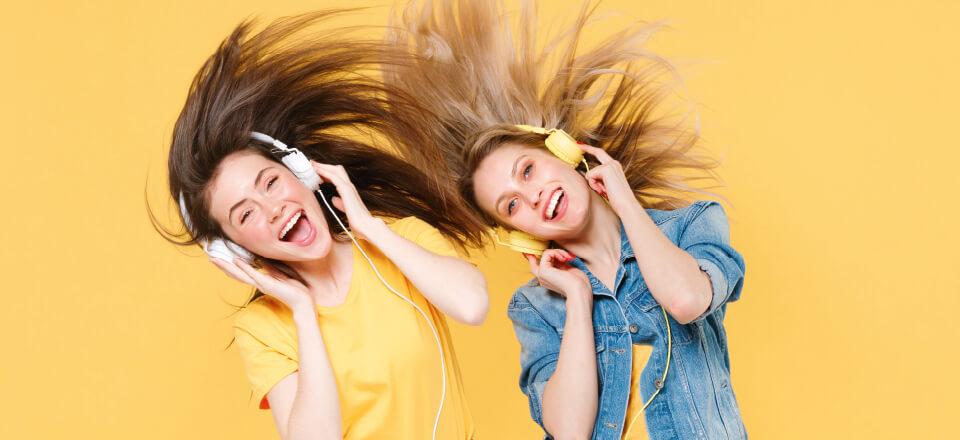 Skru op! Musik får os i bevægelse!