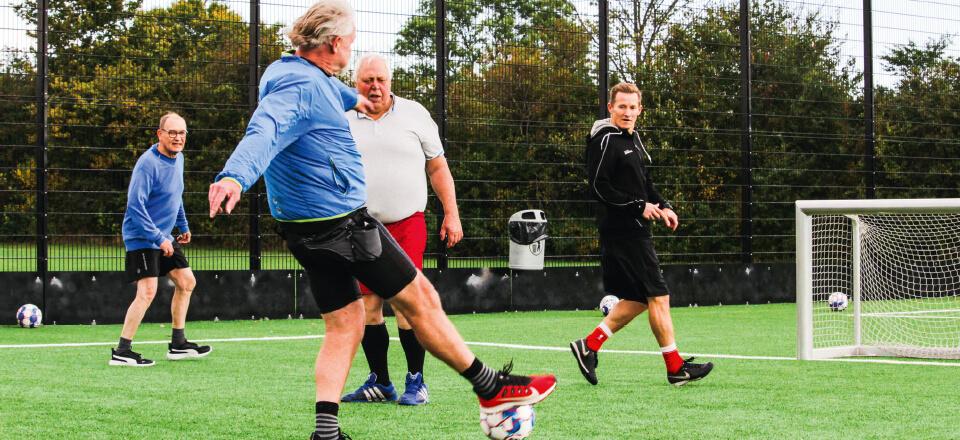 Fodbold for og med hjertet